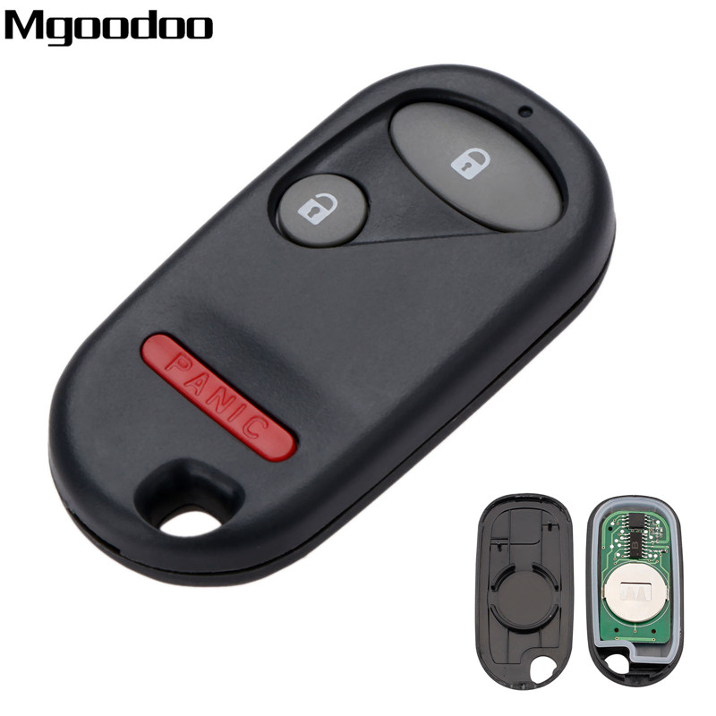 2+1Buttons 433Mhz <font><b>Keyless</b></font> Entry <font><b>Remote</b></font> Car Key For <font><b>Honda</b></font> For <font><b>Honda</b></font> Civic EX LX PILOT ELEMENT NHVWB1U521 NHVWB1U523 Key image