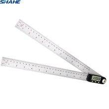 Goniometro in acciaio inox goniometro digitale SHAHE 360 gradi goniometro angle finder meter digitale angolo di righello goniometro