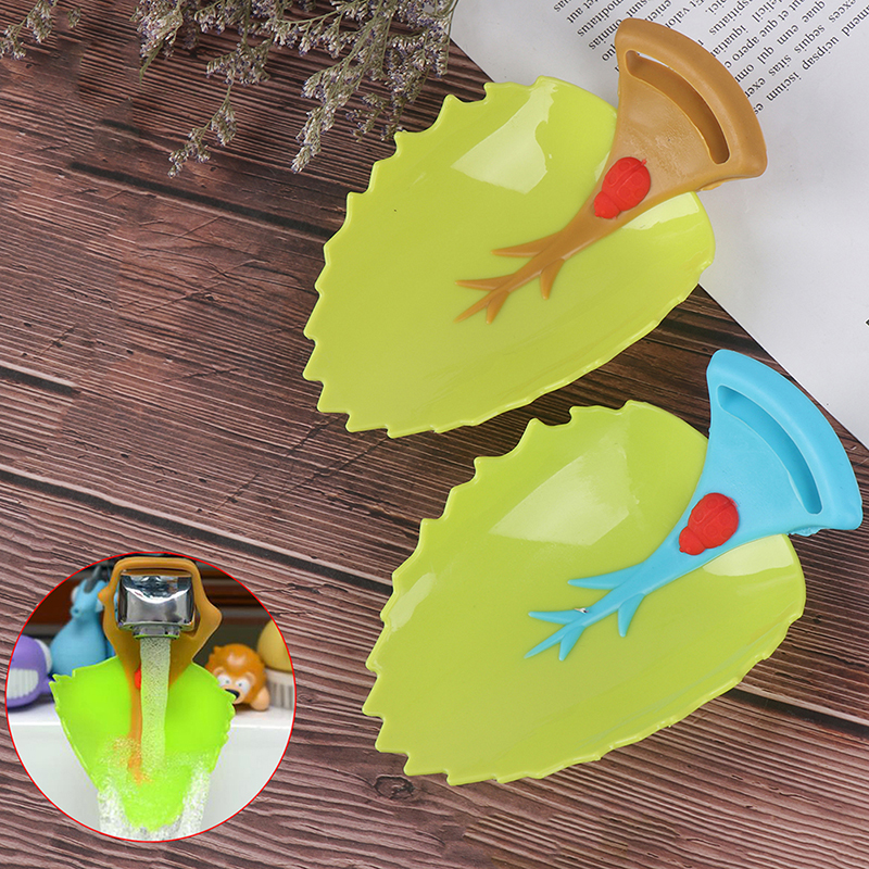 Bathroom Faucet Extender Cartoon Baby hand-washing device Children's Guide sink Faucet extension Bathroom Accessories
