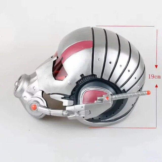 Marvel Avengers Antman Helmet Cosplay 1 1 Mask PVC Action Figure Toys