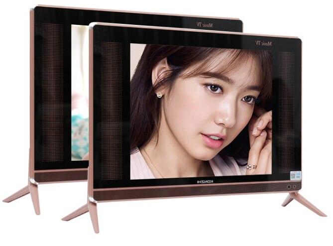 Televisor plano con Android y wifi, televisor LED HD de 15, 17, 19, 22 y 24 pulgadas con pantalla plana inteligente