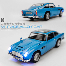 Diecast 1:32 Scale Aston Martin Car Models Of Cars Metal Model Sound And Light Pull Back SUV For Kids Doors Can Be Opened недорго, оригинальная цена