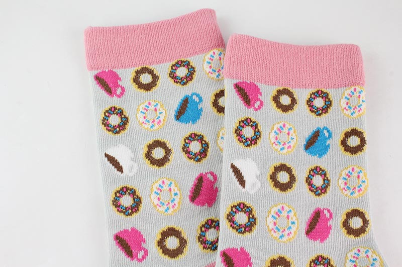 H90d72c6ffc0a46ea8612ef8ce08c5583F - Women Happy Funny Socks With Print Art Cute Warm Winter Socks With Avocado Sushi Food Cotton Fashion Harajuku Unisex Sock 1 Pair
