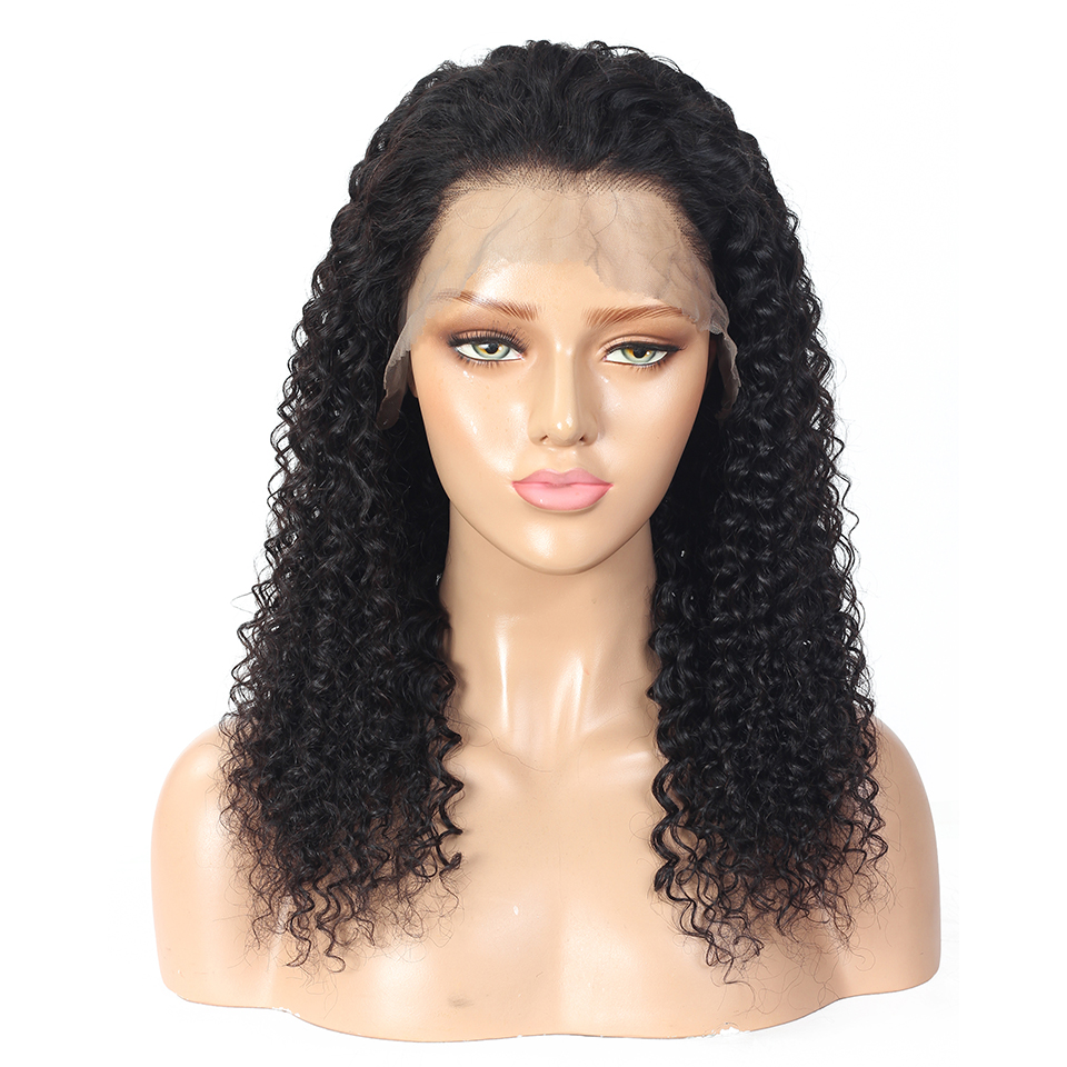 Curly Lace Front  Wigs  Preplucked  Deep Curly 13x4 Lace Wig 360 Lace Frontal Wigs 3