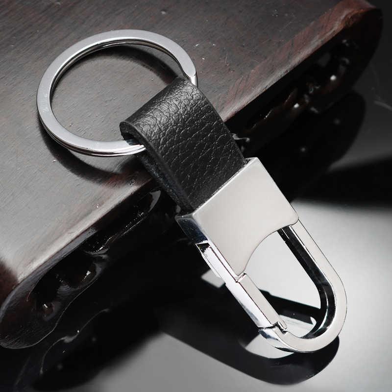 หนังโลหะรถจัดแต่งทรงผม Key Chain พวงกุญแจ keyring สำหรับ Skoda Opel DAF รถบรรทุก RAM Paccar Ford Otosan Chrysler