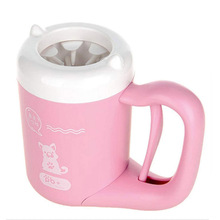 Pet-Accessories Paw-Washer Cleaning-Tool Pug-Supplies French-Bulldog Pink Washing-Brush