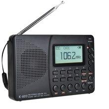 JINSERTA חדש FM/AM/SW רדיו Multiband נייד רדיו מקלט REC מקליט בס קול MP3 נגן רמקולים עם שינה טיימר