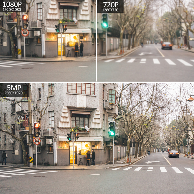 PTZ Speed Dome WIFI IP Camera 1080P 5MP Outdoor 5X Zoom Wireless Camera 8pcs Led IR 30m Two Way Audio CCTV Surveillance Camhiapp 2