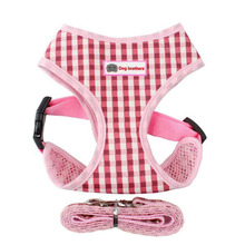Dog Harness Vest Adjustable Soft Breathable Nylon Mesh for Dogs Puppy Collar Cat Pet Chest Strap