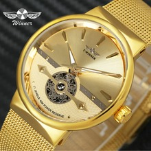 T-WINNER Fashion Sport Luxury Mens Watches Royal Golden Automatic Mechanical Watch Men Skeleton Wristwatch Relogio Masculino все цены