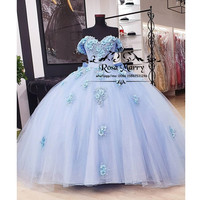 Cinderella Sweet 15 Ball Gown Quinceanera Dresses 2020 Masquerade Plus Size Sequined Tulle Girls Vestido De 15 Anos Prom Gowns