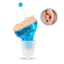 Мини невидимый слуховой аппарат Внутреннее ухо глухих слуховое устройство Цифровой Тон CIC слуховой аппарат Audifono