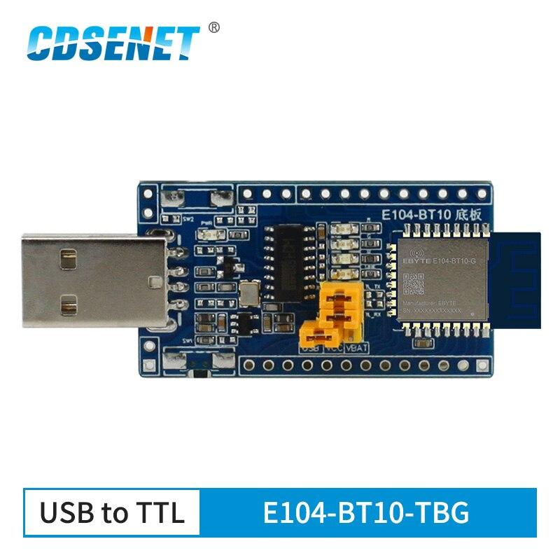 CH340 USB Test Board E104-BT10-TBG For Mesh Network TLSR8269 Gate Way Bluetooth Module E104-BT10-G