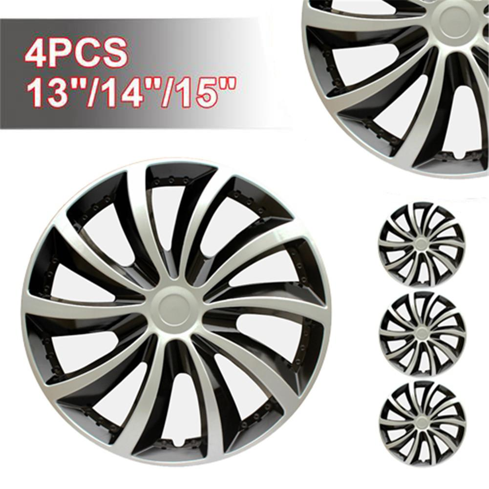 4PCS/Set Car Wheel Cover Hubcap Wheel Decorative Cover Car Wheel Hub Cover 13-Inch 14-Inch 15-Inch Hubcap