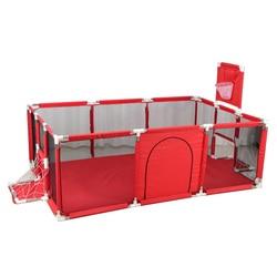Baby Laufstall Für Kinder Pool Bälle Für Neugeborene Baby Zaun Laufstall Für Kinder Basketball Fußball Bereich Sicherheit Barriere