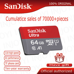 سانديسك مايكرو SD بطاقة بطاقة الذاكرة 16GB 32GB 64GB 128GB مايكرو ماكس 80 متر/الثانية Uitra C10 TF بطاقة C4 8G cartao دي ميموريال