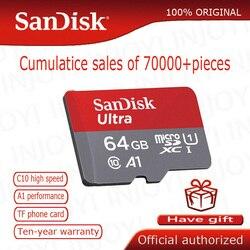 Cartão de memória de sandisk micro sd 16 gb 32 gb 64 gb 128 gb microsd max 80 m/s uitra c10 tf cartão c4 8g cartao de memoria