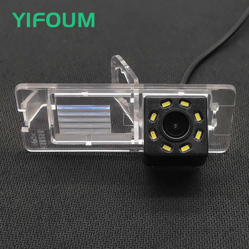 YIFOUM 170 derece su geçirmez araba dikiz geri görüş kamerası için Renault Symbol Fluence Megane Dacia Logan 2/Nissan Terrano