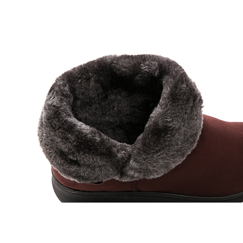 Women Ankle Boots Female Winter Boots Fashion Winter Shoes Women Boots Booties Warm Fur Suede Bota Women Snow Boots Botas Mujer in Ankle Boots from Shoes