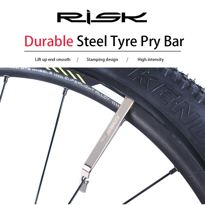3 Pcs Steel Bike Cycling Bicycle Tyre Tire Levers Repair Opener Breaker Tools UK