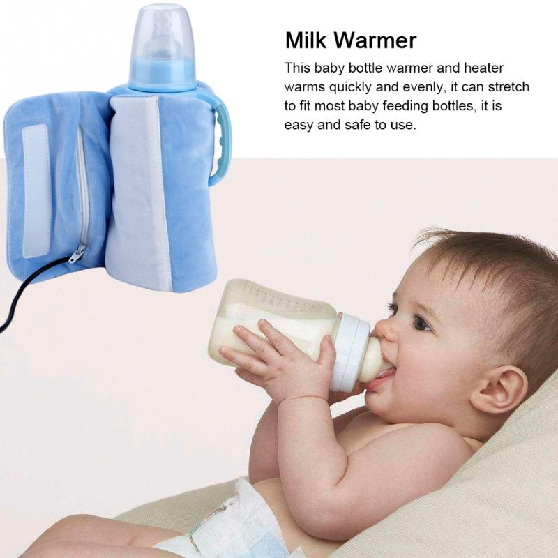 Baby Feeding Milk Bottle Milk Warmer Insulation Bag Thermal Baby Bottle Holder Q