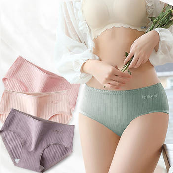 4Pcs/lot Breathable Underpants Cute Cotton Women Underwear Mid-Rise Lace Girls Ladies Panties Thin Lingerie Sexy Briefs dewvkv sexy lace cotton ladies underwear panties for women low rise breathable briefsfancy ultra thin golden ruffled solid jk