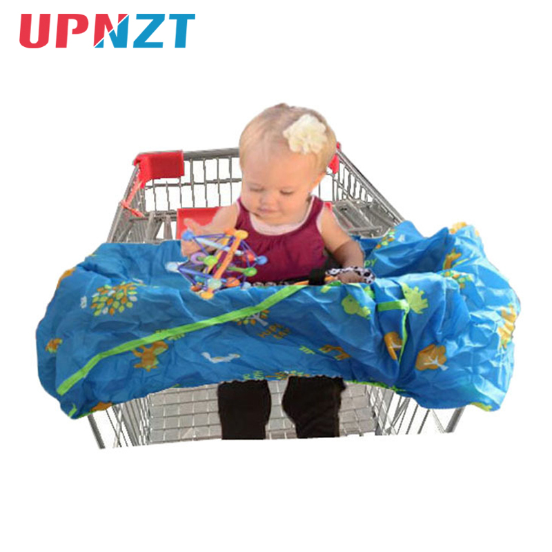 Shopping Cart Cover Protection Baby Supermarket Shopping Bag Carry Infant Cart Seat Cover Reusable Tote Safety Trolley Co