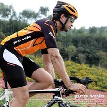 PRO VELO Cycling Jersey Set 2019 Summer Mens Pro Team Clothing Mtb Road Bike Racing Orange Shirt maillot ciclismo Kit