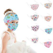 Bandanas para a cabeça bandanas bandanas de cabelo elástico meninas bandanas para crianças com botões