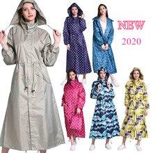 ATIAMYTLE Amantes capa de chuva Moda Senhoras Casaco De Chuva Respirável Das Senhoras Longas Capas de Chuva impermeáveis Mulheres Água Repelente Portátil