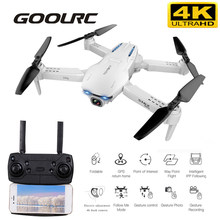 GoolRC S162 RC Drone with Camera GPS 4K 5G WIFI Gesture Photo Video MV FPV RC Quadcopter Follow Me Drone Toys VS S167 SG907 Dron(China)