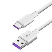 Кабель USB Type C для Huawei honor 20,honor 20 Pro, honor20 nova 5,nova 5i, кабель для синхронизации данных и зарядки, длинный зарядный кабель для телефона, 1 м, 2 м