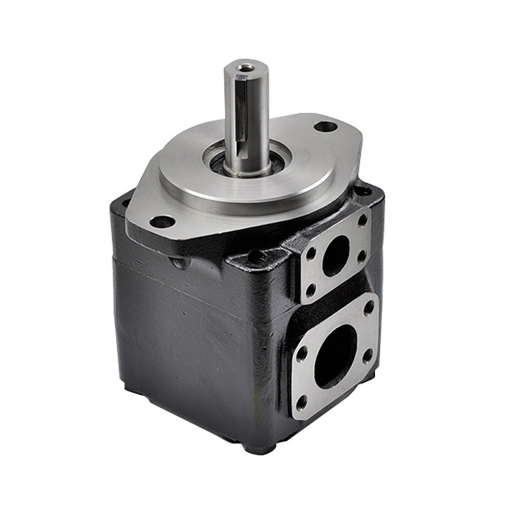 T6 Denison Type Industrial Hydraulic Pump T6C Vane Pumps Keyed Shaft Outlet And Inlet Position Is 01