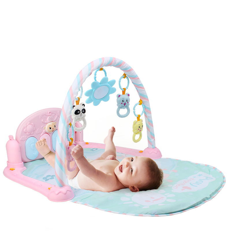 Infants Multi-functional Music Piano BABY'S Educational Mobile 0-18 Month Music Harmonium Game Mat Wholesale