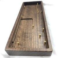 GK61X GK64XS custodia in legno di noce guscio in legno di pera tastiera meccanica tastiera in legno fai-da-te per GK61X 61XS GK64X 64XS