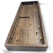 GK61X GK64XS orzech drewniana obudowa drewno gruszy Shell mechaniczna klawiatura DIY drewniana obudowa klawiatura dla GK61X 61XS GK64X 64XS