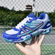 Men's and Women's Non-slip Wear-resistant Professional Badminton Shoes Tennis Shoes Volleyball Shoes Soft and Comfortable Shoes