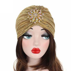 1PC Women Indian Turban Hat He