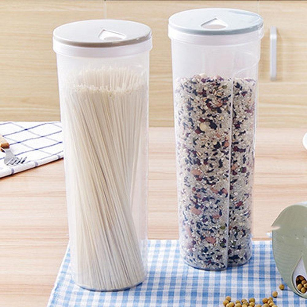 Pasta Noodle Grain Cereal Bean Rice Food Storage Container Kitchen Sealed Box