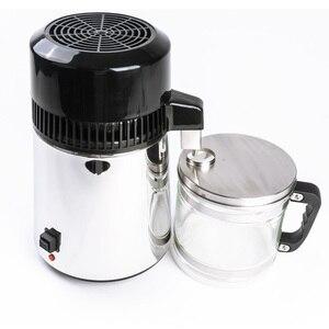 750W 4L Water Distiller Household Distilled Pure Water Machine Distillation Purifier Filter Stainless Steel Water Filter