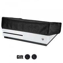 Do konsoli Xbox One S osłona pyłoszczelna Anti scratch wodoodporny odporny na kurz skrzynka dla Xbox One Slim konsoli do gier