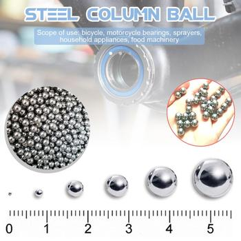 100PC/200PC Dia Bearing Balls Stainless Steel Precision Slingshot Balls 6mm/8 mm Steel Bearing Ball For Bicycles Bearings