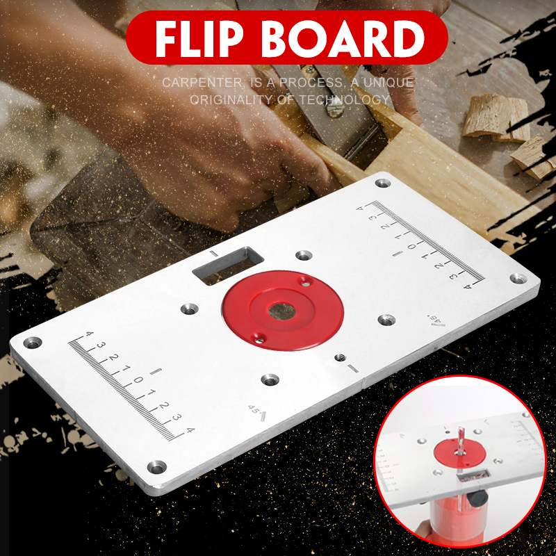 RT0700c Multifunctional Aluminium Router Table Insert Plate Woodworking Benches Wood Router Trimmer Models Engraving Machine