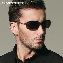 Simprect поляризованные солнцезащитные очки мужские 2019 ретро