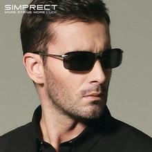 Simprect polarizado óculos de sol masculino 2021 retro óculos de sol espelho anti-reflexo motorista óculos de sol para homem lunette de soleil homme