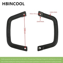 For high quality Forklift accessories pull handle forklift overhead guard handle A22A5 10412 for Heli 1 3T forklift (matching)