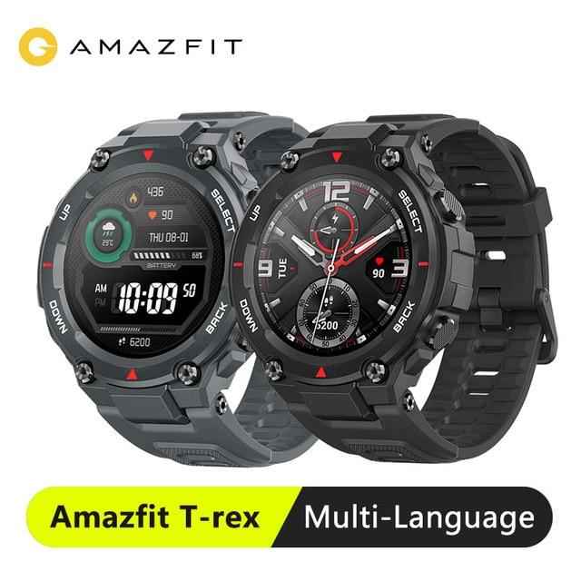 Amazfit T rex T rex Smartwatch 5ATM 14 Sport Modi Smart Uhr GPS 20 Tage Batterie Bluetooth 5,0