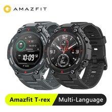 Amazfit T rex t レックススマートウォッチ 5ATM 14 スポーツモードスマート · ウォッチ Gps 20 日バッテリーの Bluetooth 5.0