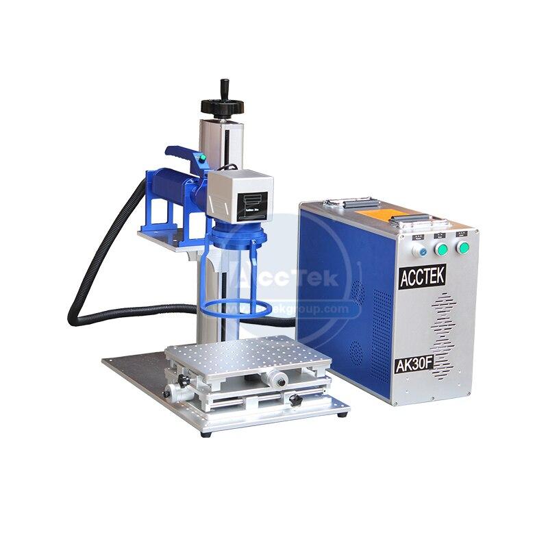 Handheld Fiber Laser Marking Machine 30w Mini Laser Printer For Metal