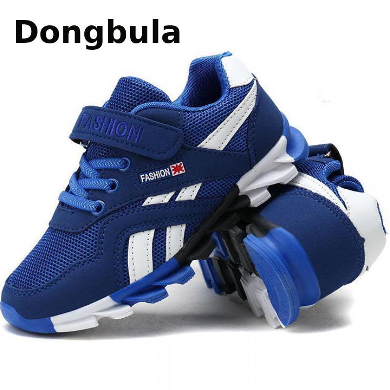 Zapatos deportivos de Primavera/otoño para niños, zapatillas de marca a la moda, informales, para adiestramiento al aire libre, transpirables, 2020